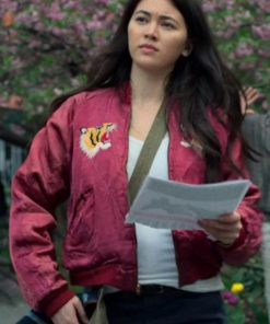 Colleen Wing Jessica Henwick Red Jacket