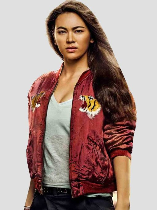 Iron Fist Bomber Jacket Colleen Wing
