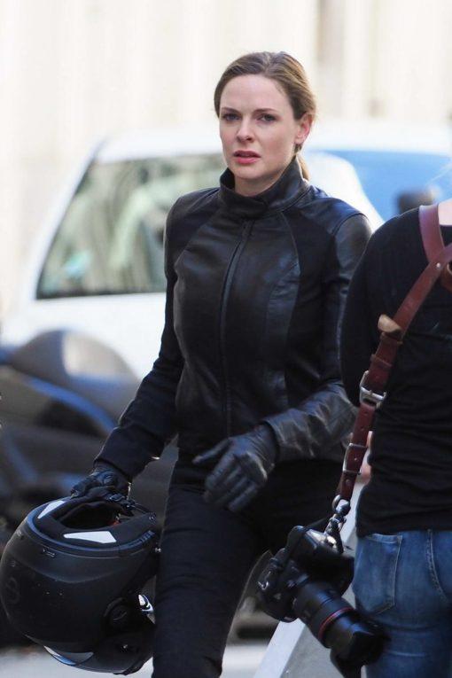 Mi6 Rebecca Ferguson Leather Jacket