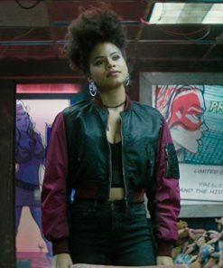 Zazie Beetz Deadpool 2 Jacket