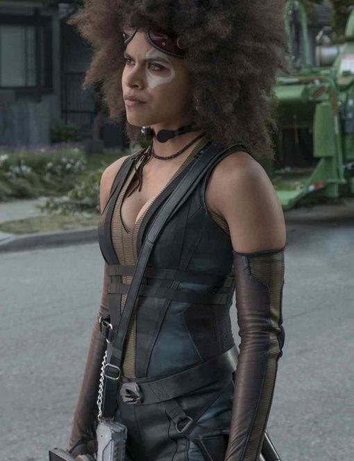 Zazie Beetz Deadpool 2 Vest