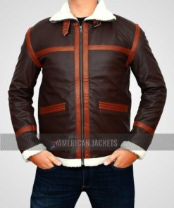 Resident Evil 4 Leon Kennedy Shearling Jacket