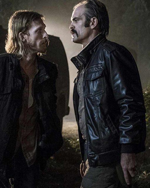 Steven Ogg The Walking Dead Leather Jacket