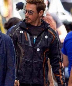 Tony Stark Avengers Infinity War Jacket