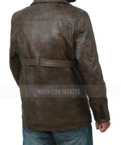 Ben Affleck Brown Leather Jacket