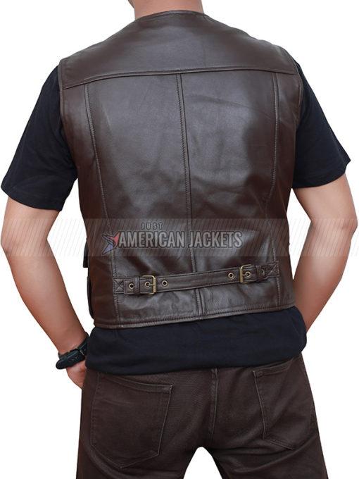 Chris Pratt Jurassic World Brown Vest