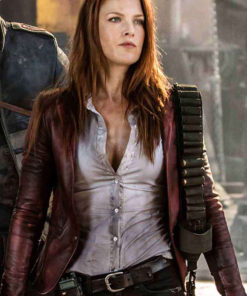 Resident Evil The Final Chapter Leather Jacket
