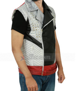 Biker Style Men's Leather Jacket