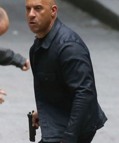 fate and Furious 8 Vin Diesel Black Jacket