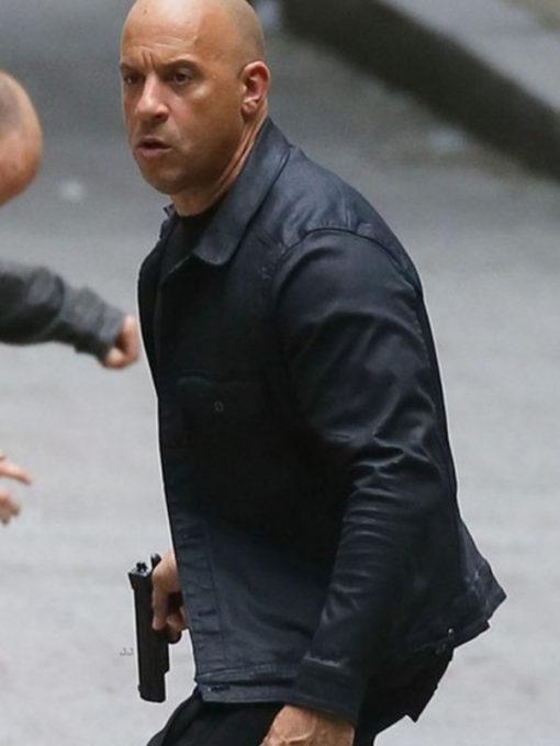 fate and Furious 8 Vin Diesel Black Jacket
