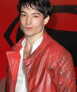 Ezra Miller Evet Jacket