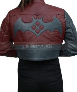 Harley Quinn Cropped Jacket