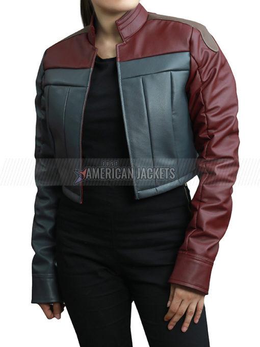 Injustice 2 Harley Quinn Leather Jacket