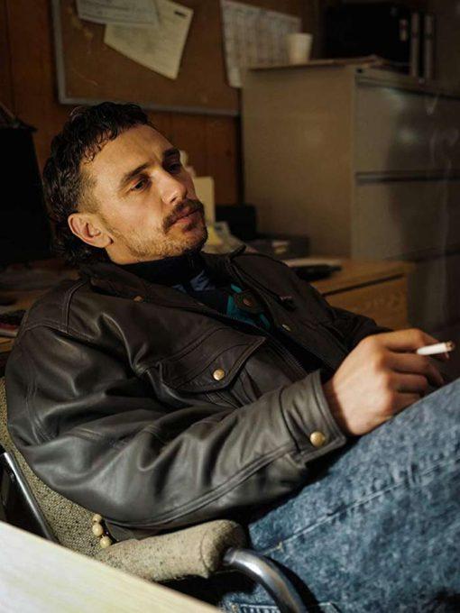 James Franco Black Leather Jacket