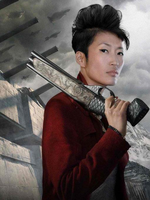 Jihae Mortal Engines Wool Coat