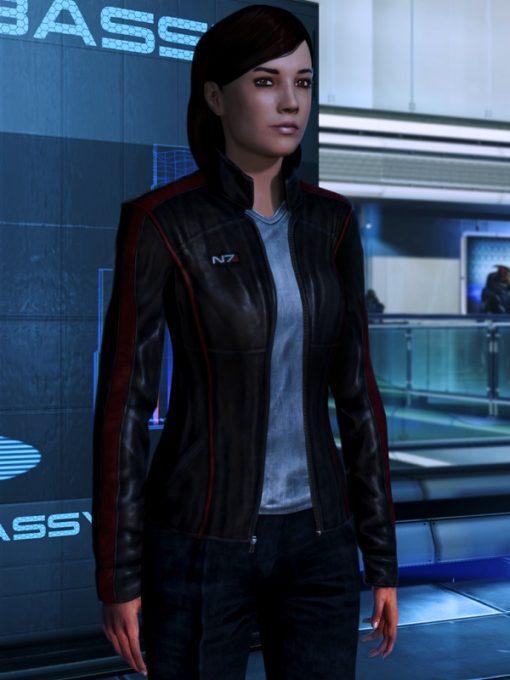 Video Game N7 Mass Effect Women Jacket