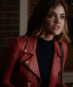Lucy Hale Pretty Little Liars Biker Jacket
