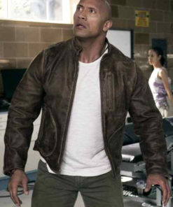 Davis Okoye Rampage Leather Jacket