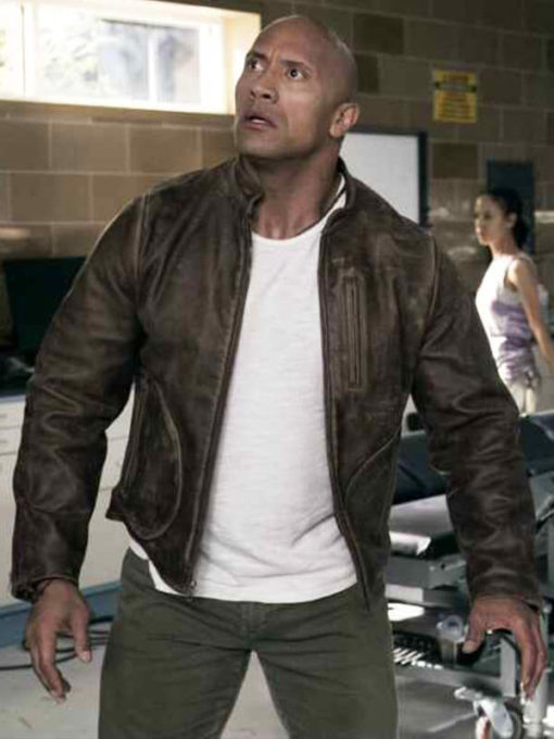 Davis Okoye Rampage Leather Jacket