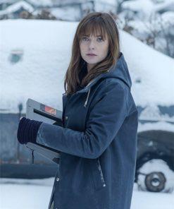 The Snowman Rebecca Ferguson Coat