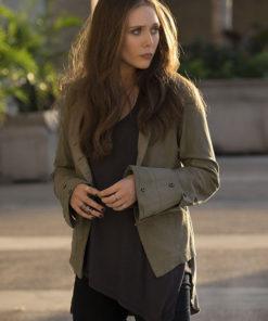 Elizabeth Olsen Civil War Cotton Jacket