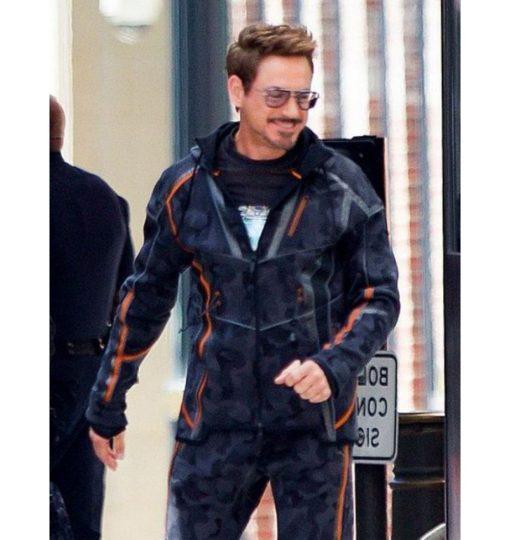Avengers Infinity War Iron Man Cotton Jacket