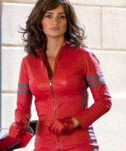 Zoolander 2 Red Penelope Cruz Leather Jacket