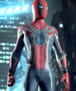 Avengers Infinity War Spiderman Jacket