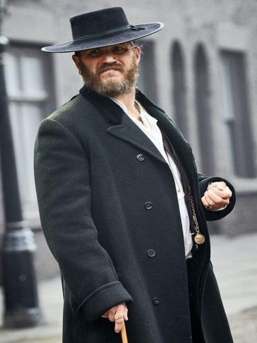 Peaky Blinders Tom Hardy Wool Coat