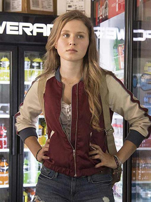Amma Crellin Sharp Objects Varsity Jacket