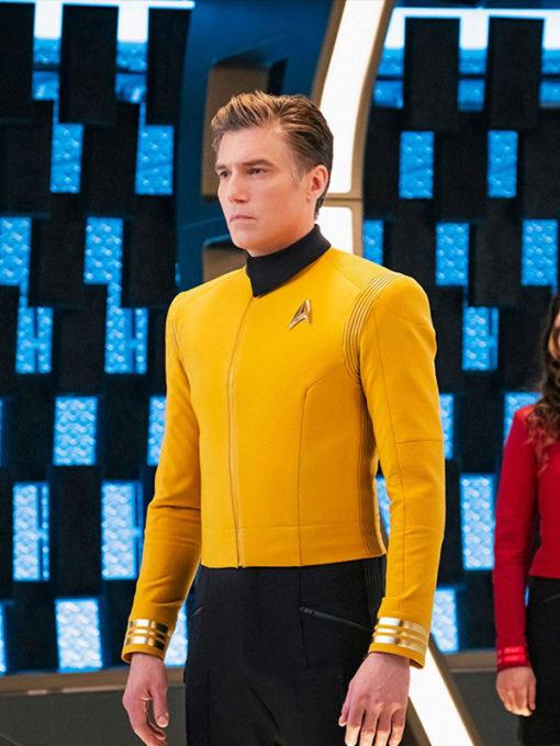 Star Trek Discovery Anson Mount Yellow Jacket