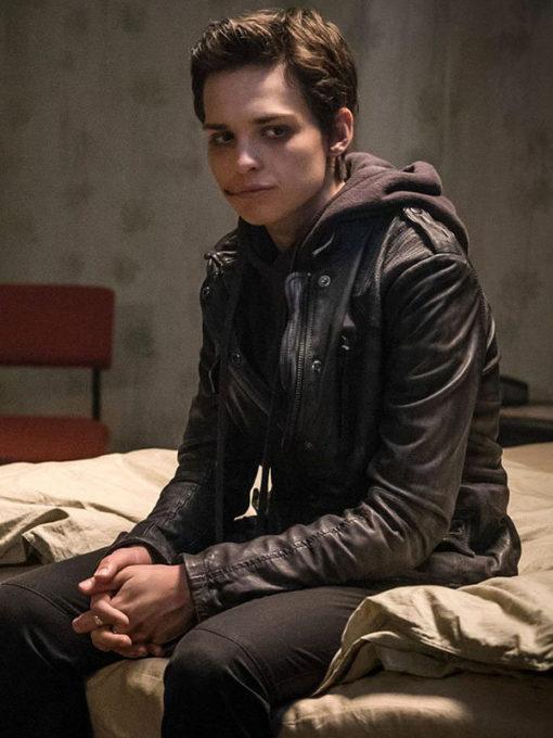 Sara Serraiocco Counterpart Leather Jacket