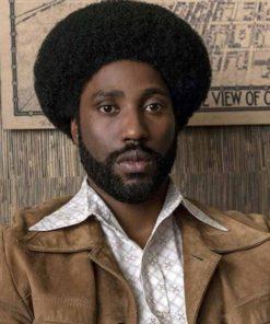 Ron Stallworth BlacKkKlansman Leather Jacket