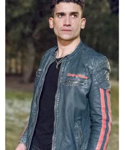 Jaime Lorente Elite Black Leather Jacket