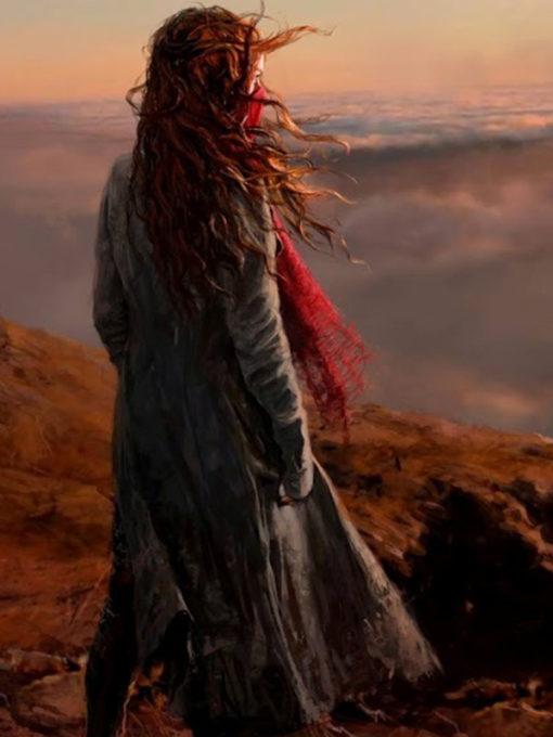 Hera Hilmer Mortal Engines Black Coat