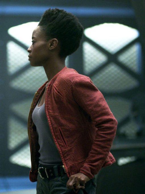 Angela Lost in Space Sibongile Mlambo Cotton Jacket