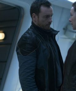 Toby Stephens Lost in Space Black Jacket