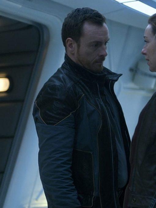 Toby Stephens Lost in Space Black Jacket