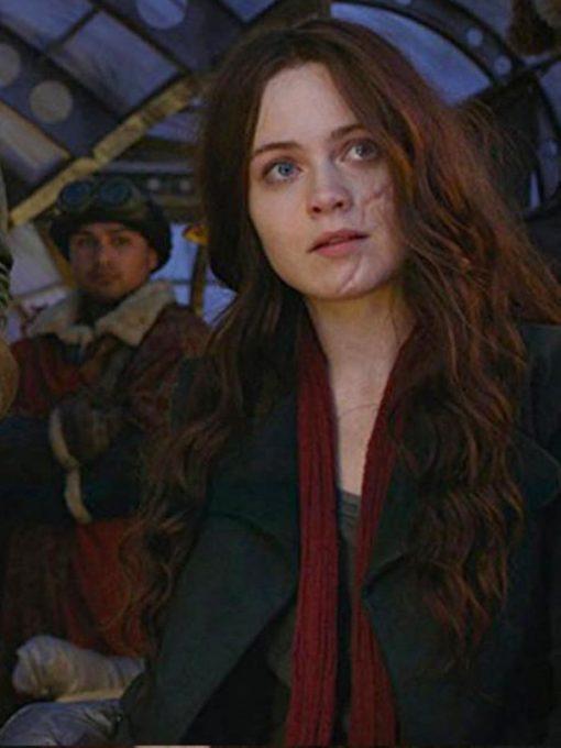 Hera Hilmer Mortal Engines Black Trench Coat