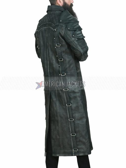 PUBG Black Leather Coat
