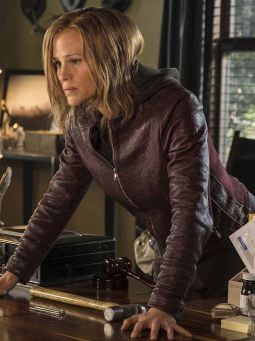 Peppermint Riley North Leather Jacket