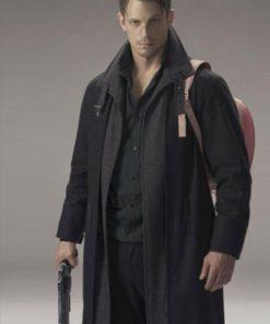 Altered Carbon Takeshi Kovacs Black Wool Coat