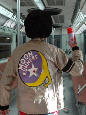 The Warriors Moonrunners Silver Jacket