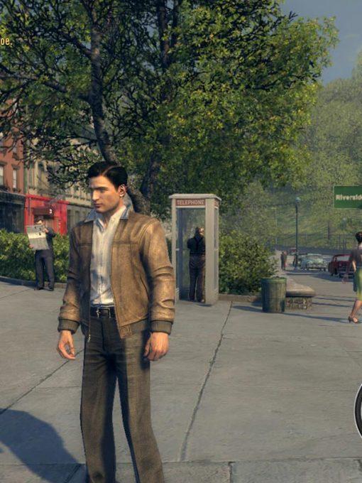 Mafia 2 Vito Scaletta Brown Leather Jacket