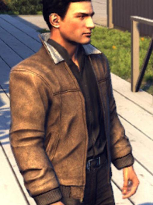Video Game Mafia 2 Vito Scaletta Suede Leather Jacket