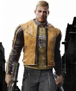 Wolfenstein 2 William BJ Blazkowicz Yellow Jacket