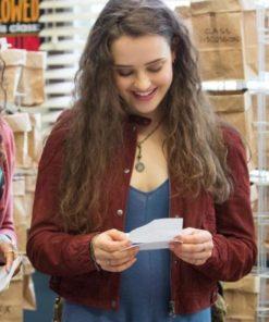 Katherine Langford 13 Reasons Why Cotton Jacket