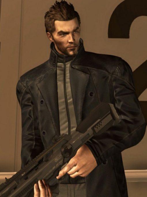 Deus Ex Human Revolution Adam Jensen Leather Coat