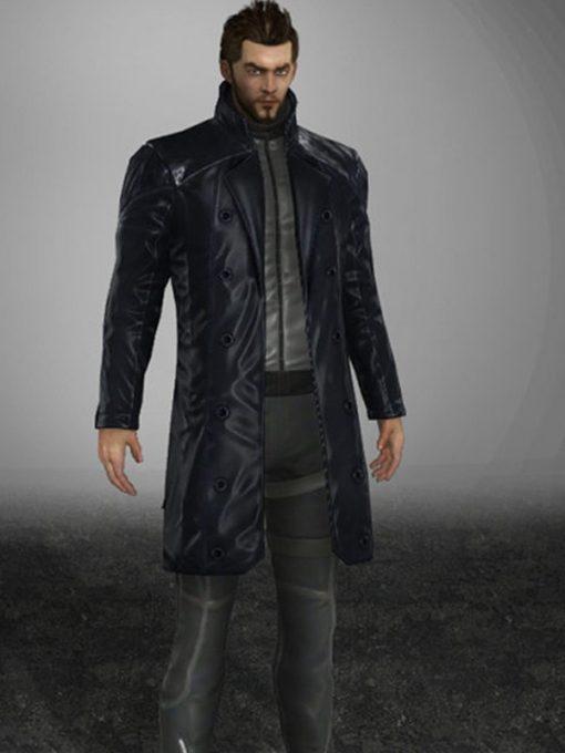 Adam Jensen Deus Ex Human Revolution Black Coat