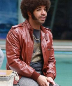 Drake Anchorman 2 The Legend Continues Leather Jacket